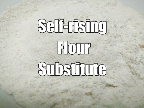 Self-rising Flour// How to make self-rising flour