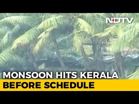 Monsoon Hits Kerala 3 Days Before Schedule: Met Department