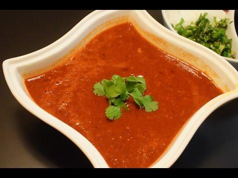Mexican Recipe, Red Dry Chili Sauce Recipe, Mexican Salsa