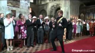 Royal Wedding viral ad as
