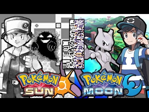 Lets Glitch Pokemon Sun and Moon Part 2 - Missingno, Mewtwo and more!