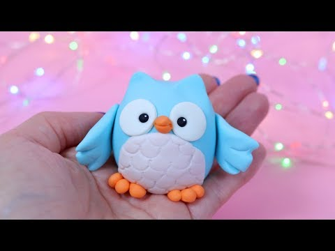 How To Make Fondant Owl Cake Topper Tutorial!