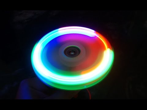How to Make a Paper LED Lit Spinner