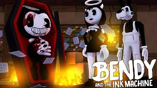 Minecraft BENDY AND THE INK MACHINE!! - IS BENDY DEAD???? - Donut the Dog Minecraft Roleplay