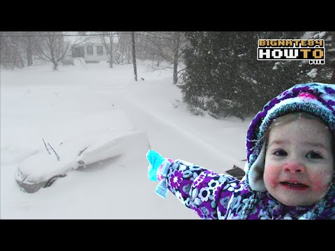 Blizzard #1 (Juno) 2015 Time Lapse | Wicked Big Storm