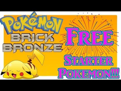 FREE Starter Pokemon | Pokemon Brick Bronze