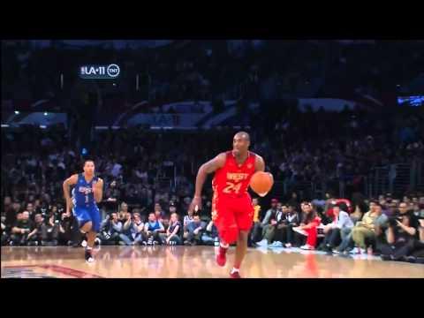 Kobe dunks on faggot ass LeBron in glorious HIGH DEFINITION (2011 ALL STAR GAME)