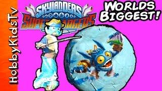 Giant SKYLANDERS SURPRISE Smash Egg by HobbyKidsTV