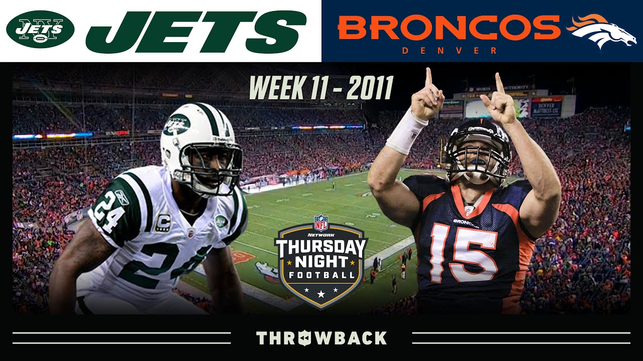 Mile-High TebowMania on TNF! (Jets vs. Broncos 2011, Week 11)