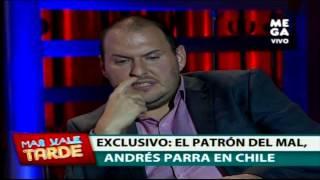"Andrés Parra: ""Soñaba con Pablo Escobar"""