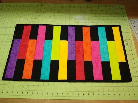 Easy Quilt-As-You-Go Table Runner