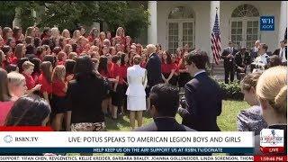 Full Event: President Trump Speaks to American Legion Boys and Girls Nation 7/26/17