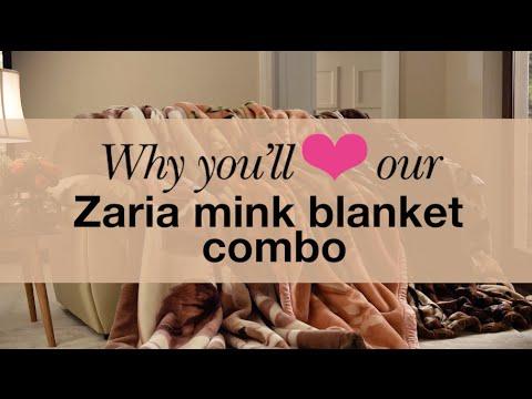 Zaria mink blanket