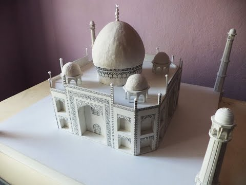 TEASER | How to make a model of Taj Mahal | Architecture Model Making
