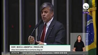 Dep. Boca Aberta Fala Sobre Oferta De R$ 40 Milhões Para Aprovar A Reforma Da Previdência