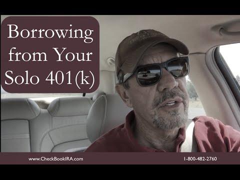 How can I borrow from my 401(k)?