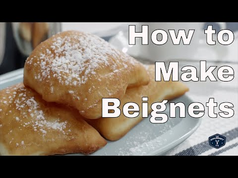 How to Make Beignets (doughnuts) || Le Gourmet TV Recipes