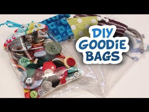 Vinyl Goodie Bags How to - Whitney Sews