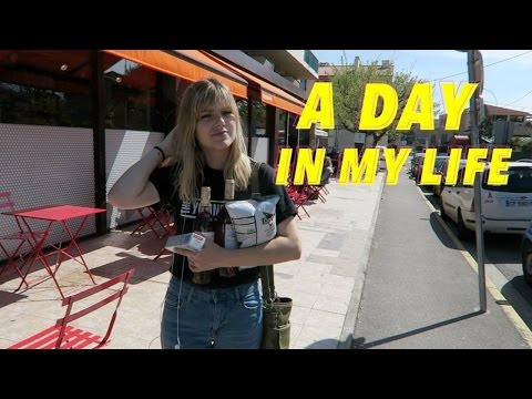 A DAY IN MY LIFE IN FRANCE (Study Abroad)