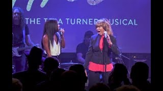 Tina Turner The Musical  Tina performs in London for 2018 launch