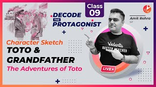 CHARACTER SKETCH: Toto and Grandfather (The Adventures of Toto)   🕵️♂️ Decode the Protagonist