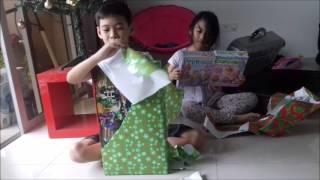 Faith & Dihsel Santa Christmas Gift 2016
