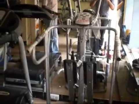 Afton Fitness Equipment showroom in A S Rao Nagar