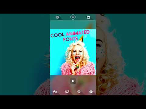 MAYU APP - animated text & Effects on photos