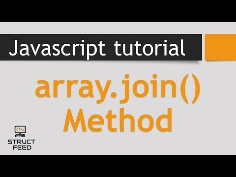 Join Mehod in Javascript Arrays