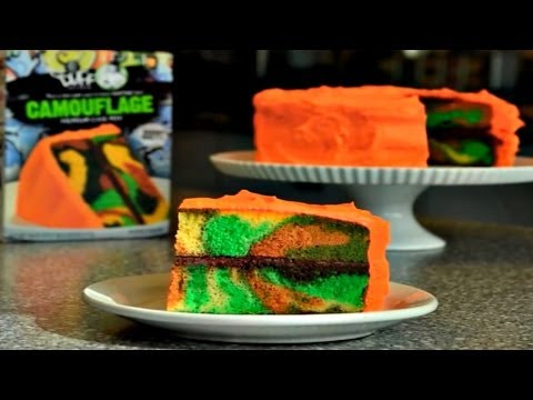Duff Goldman™ How To Make a CAMOUFLAGE CAKE