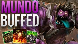 Download DR. MUNDO PATCH 9.7 IS AMAZING | CHALLENGER MUNDO TOP GAMEPLAY | Patch 9.6 S9 Video