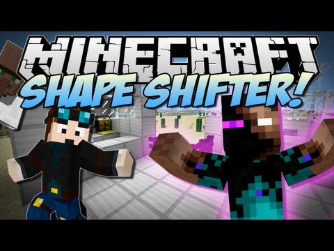 Minecraft | SHAPE SHIFTER! (Morph into ANY Mob EVER!) | Mod Showcase [1.6.2]