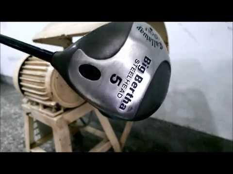 KT polishing abrasive wheel polishing GOLF CLUB HEAD