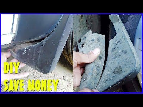 Renault Kwid Mud Flaps DIY Repair - Easy Trick and Save Money
