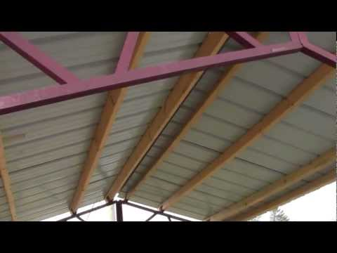 Steel Trusses For Utility Buildings