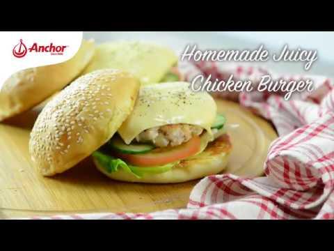 Anchor Homemade Juicy Chicken Burger