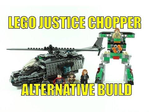 LEGO BATMAN VS SUPERMAN 76046 ALTERNATIVE BUILD JUSTICE CHOPPER