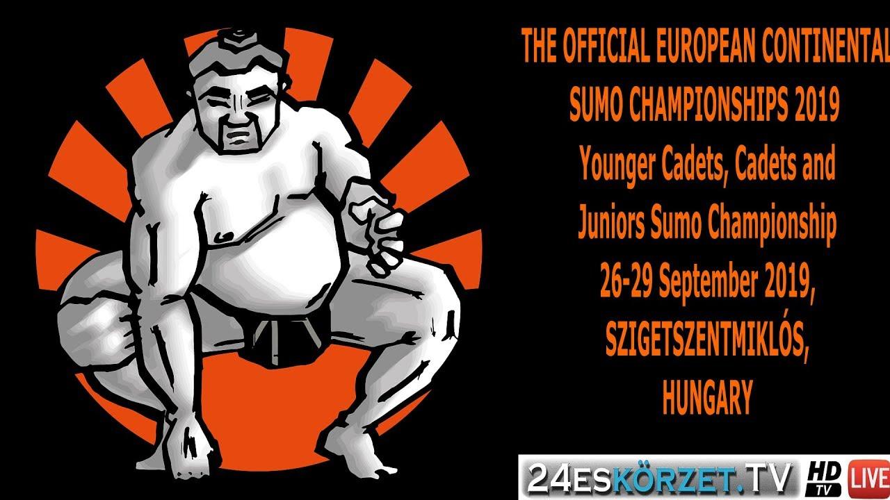 EUROPEAN CONTINENTAL SUMO CHAMPIONSHIPS 2019 Team competition, semi-finals, finals W U16, M U16