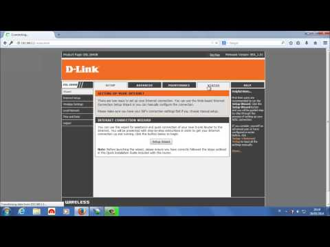 Tutorial Setting Modem D-LINK DSL 2640B (with Caption/Subtitle)