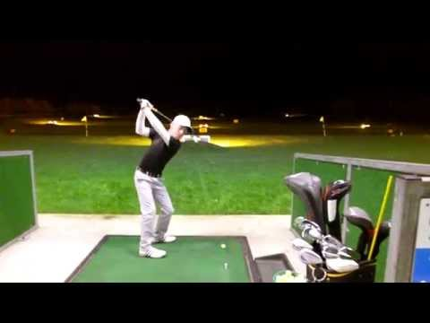 Lewis First hit with Lynx Forged Tour Blade 7 iron