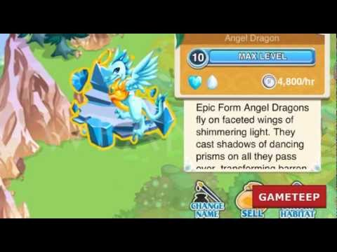 How to Breed Angel Dragon in Dragon Story