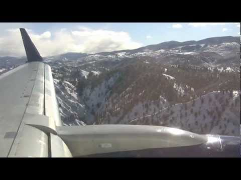 Delta Airlines Boeing 757-200 Landing in Eagle-Vail