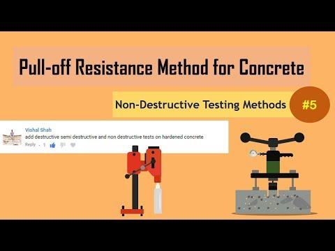 Pull-off Resistance Method for Concrete | James Bond Test | Non-Destructive Testing Methods (NDT) #5