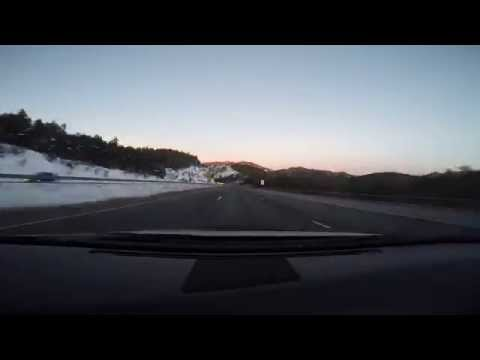 Time-Lapse Denver to Copper Mountain on I-70 in Colorado