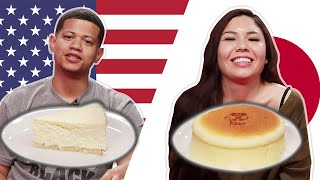 Download Japanese Vs. NY Cheesecake Video
