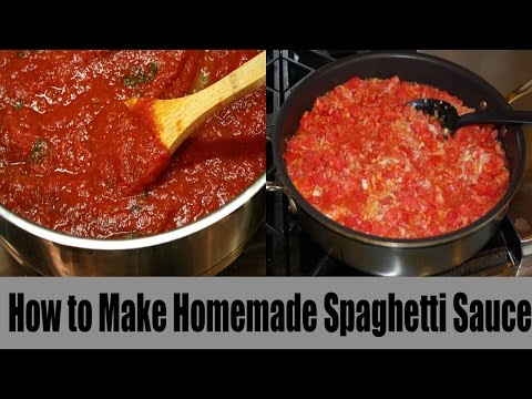How to Make Homemade Spaghetti Sauce With Fresh Tomatoes