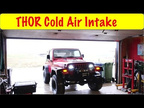 Trailhead OffRoad Cold Air Install
