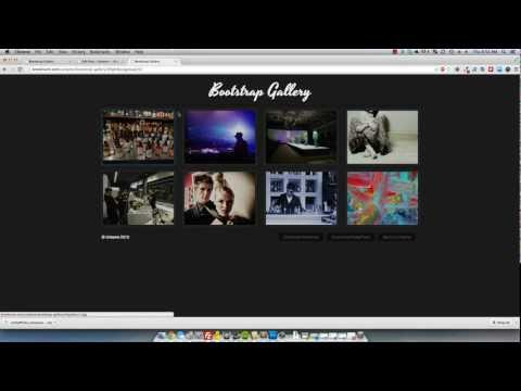 Twitter Bootstrap: Responsive Lightbox Gallery.mp4