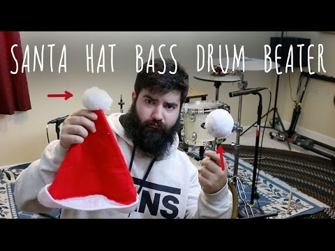 DIY Fleece Bass Drum Beater