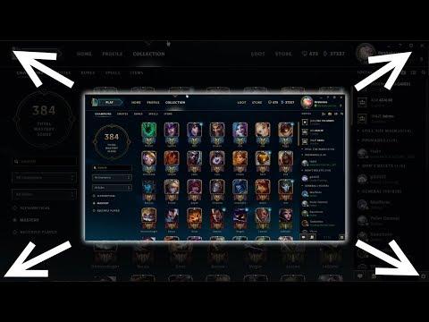 Make New Client Fullscreen | League of Legends